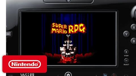 Super Mario RPG Legend of the Seven Stars on the Wii U Virtual Console