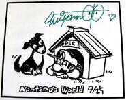 Марио в конуре (Nintendo World) - Сигэру Миямото