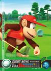 Carte amiibo Diddy Kong golf