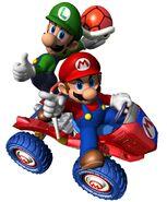 MKDD Artwork Mario & Luigi