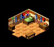 Mario's Pad - Inside - Super Mario RPG