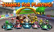 Mario Kart 7 Ending 1