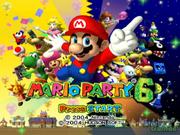 Mario Party 6 Title Screen