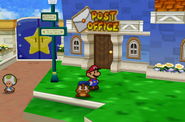 Outside Post Office (Paper Mario)