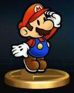 Paper Mario Trofeo SSBB
