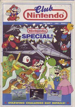 Portada Club Nintendo