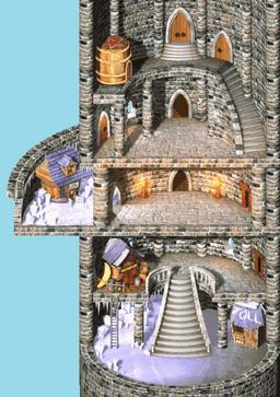 DKC2GBA Screenshot K. Rools Reich