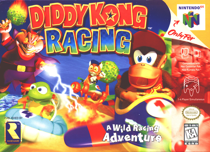 Diddy Kong Racing Mariowiki Fandom Powered By Wikia
