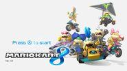 MK8-Titelbildschirm mit Koopalingen