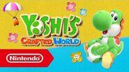Téléchargez dès maintenant la démo gratuite de Yoshi's Crafted World (Nintendo Switch)