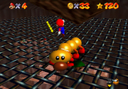 Wiggler battle SM64