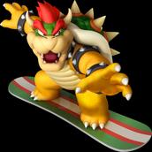 Bowser en la saga Mario VS Sonic