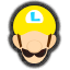 Icône Luigi jaune Ultimate