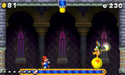 Lemmy Koopa en New Super Mario Bros. 2