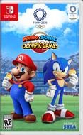 Mario Sonic Tokyo 2020 СА обложка