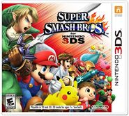 Super Smash Bros for Nintendo 3DS USA boxart