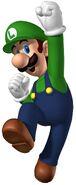 NSMB Artwork Luigi