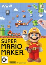 Super Mario Maker обложка РФ