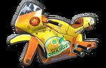 Corps Sport GP jaune orange