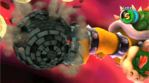Mario vs giant bowser