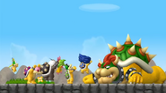 Push Bowser-SUCCESS