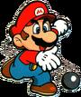 SML Artwork Superball Mario