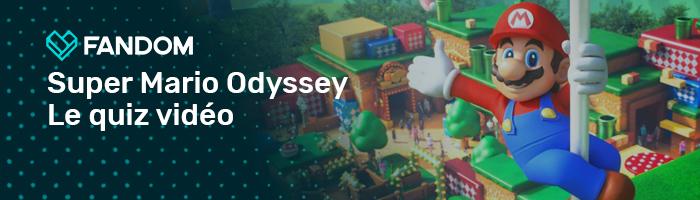 Super Mario Odyssey Video Quiz FR