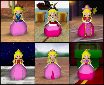 Peach Mario Party 2