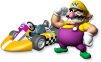 Artwork Wario MKW