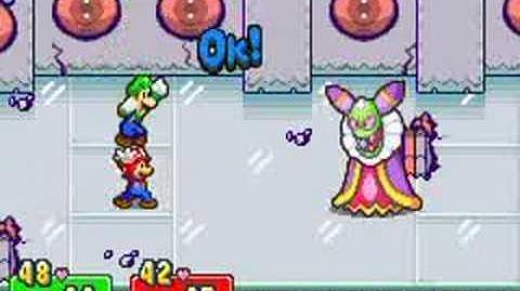 Mario & Luigi Superstar Saga - Cackletta