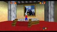 Princess Peach's Castle Bob-omb Battlefield Portrait SM64
