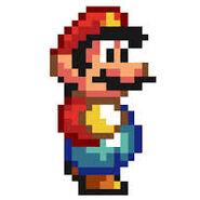 Super Mario dans Super Mario World