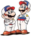 Famicom Grand Prix II - 3D Hot Rally Mario & Luigi
