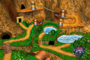 DKC3GBA Screenshot Gipfelgrat