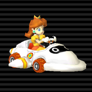 Daisy en el Bloopercarro