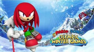 Knuckles Voice Clips Mario & Sonic at the Olympic Winter Games