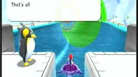 Mario Galaxy Ray Surfing