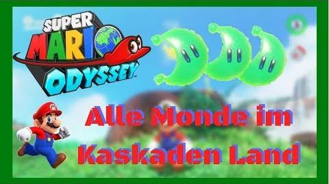 Super Mario Odyssey- Alle 40 Monde im Kaskadenland - Deutsch