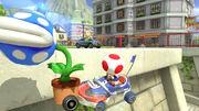 Toad and Koopa Troopa in Renegade Roundup in Mario Kart 8 Deluxe