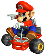 MKSC Artwork Mario