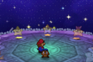 Mario Conversing With The Star Spirits (Paper Mario)