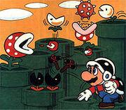 Mario en laberinto de tuberias