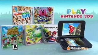 Nintendo 3DS Play Mario Kart 7 by Land, Sea and Air 3DS 30 US TV Commercial