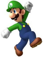 Luigi, new super mario bros