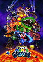 Poster Boss Super Mario Galaxy