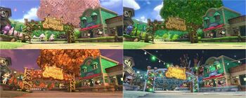Animal Crossing - MK8 (quatre saisons)