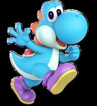 Art Yoshi bleu clair Ultimate