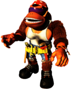 Funky Artwork - Donkey Kong Country 3