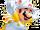 Mario raton-laveur blanc