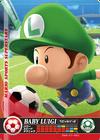 Carte amiibo Bébé Luigi football